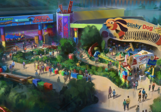 'Toy Story Land' Coming To Disney World Toy Story World A