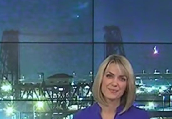 UFO Caught On Camera During Live News Broadcast UFO News 2