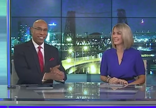 UFO Caught On Camera During Live News Broadcast UFONewsWT
