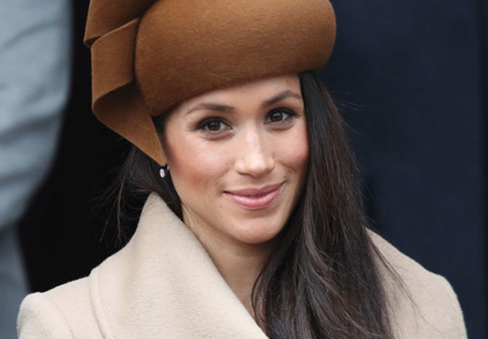 Meghan Markle on a royal engagement