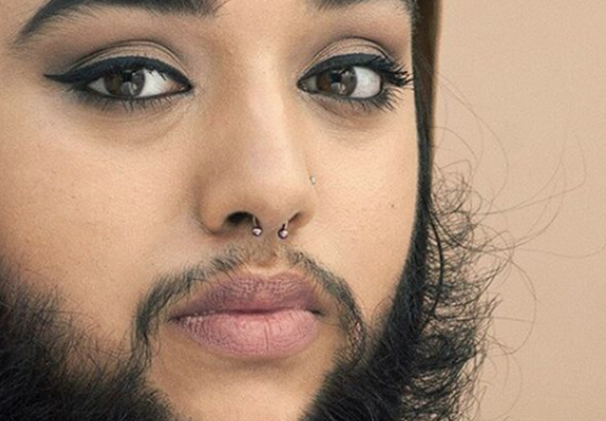 More And More Women Are Embracing Facial Hair Woman Beard A
