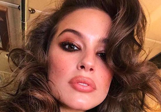Supermodel Ashley Graham Gets Neck Tattoo That Divides Opinion ashley graham tattoo web