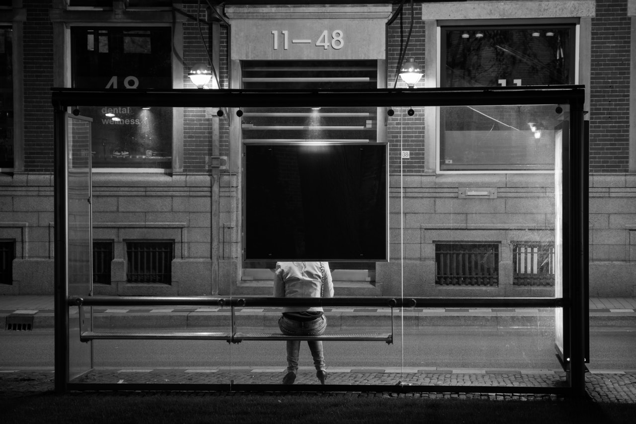 Guys Story About Walking Alone At Night Is Absolutely Terrifying black and white person woman night