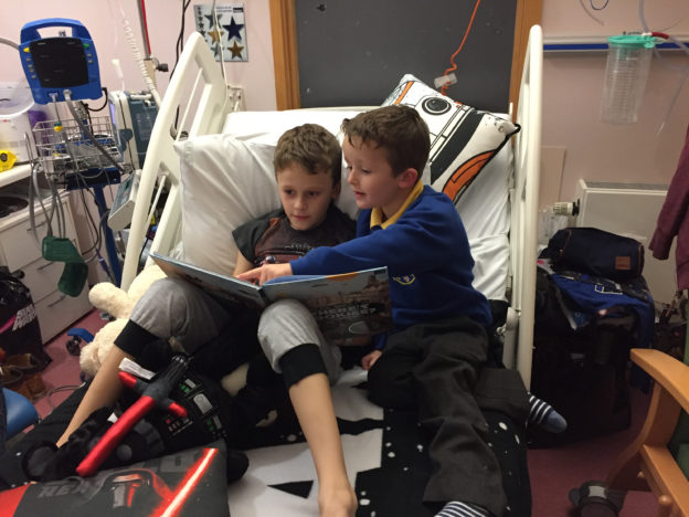 Nine Year Old Boy Battled Terminal Cancer Long Enough To Meet New Baby Sister cancer tragedy 89186 624x468