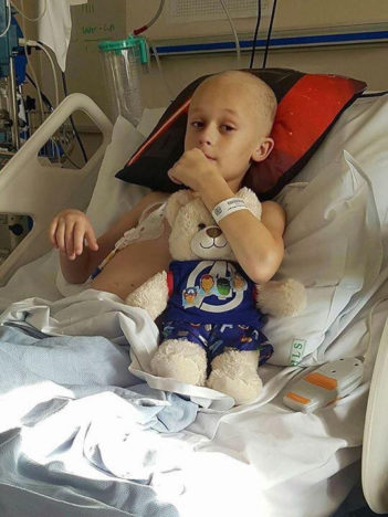 Nine Year Old Boy Battled Terminal Cancer Long Enough To Meet New Baby Sister cancer tragedy 89192 351x468