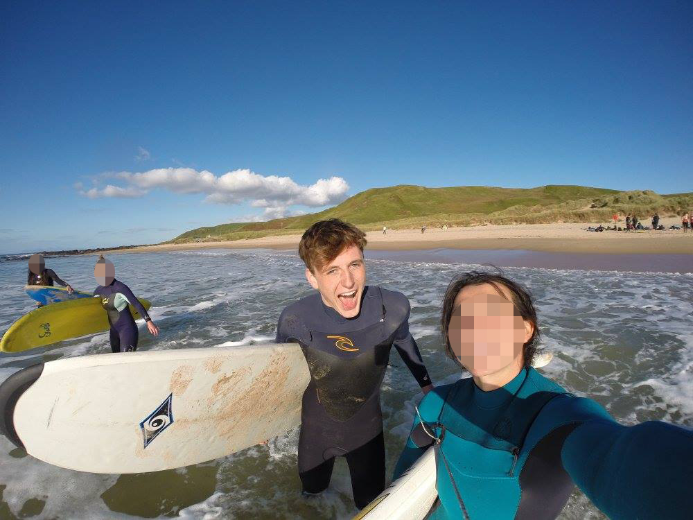 Students Tragic Google Search Before Messaging His Girlfriend Goodbye connel surf