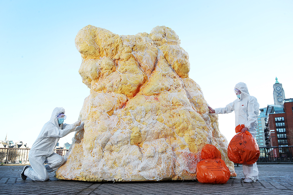 Giant 'Fatberg' Disgusts Passersby In London To Make Important Point fatberg 4