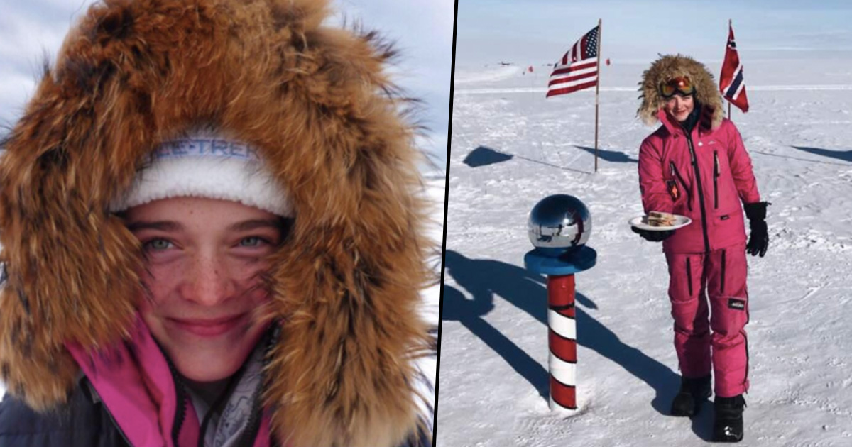 Sexists Tell Adventurer To Make Them A Sandwich So She Leaves It At South Pole jade fb