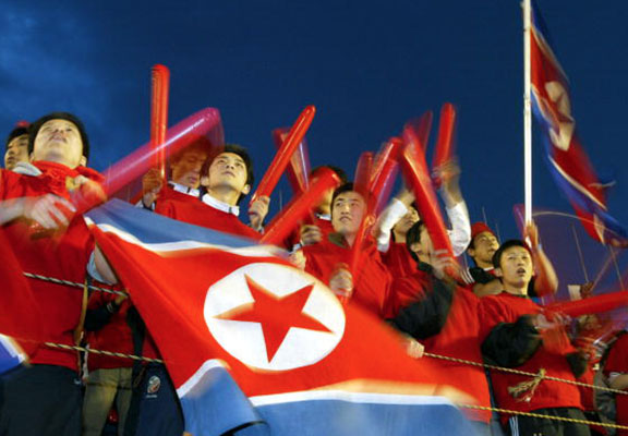 North And South Korea To Unite Under One Flag And Form First Ever Joint Olympic Team koreaflagWEBTHUMBNEW