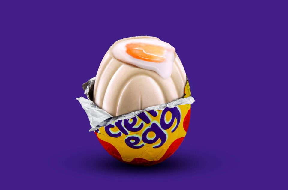 White Creme Egg Cadbury