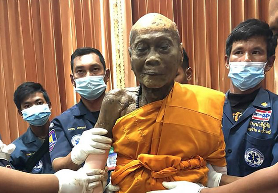 Monk Smiles After Body Unearthed Two Months After Death monk web