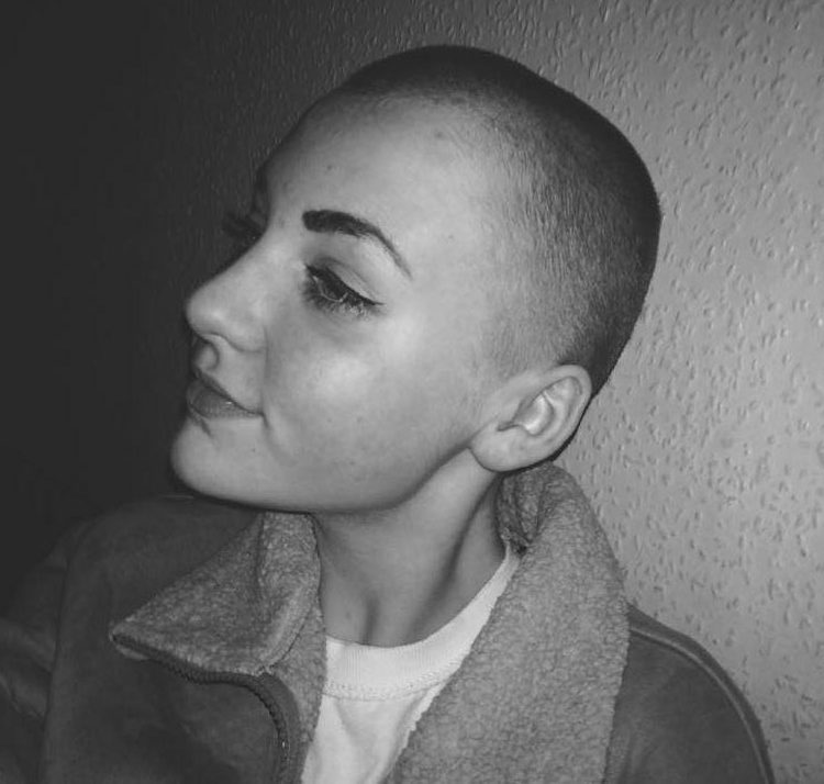 Fury As School Puts Girl In Isolation For Shaving Head For Charity nintchdbpict000376597179 e1515313807427