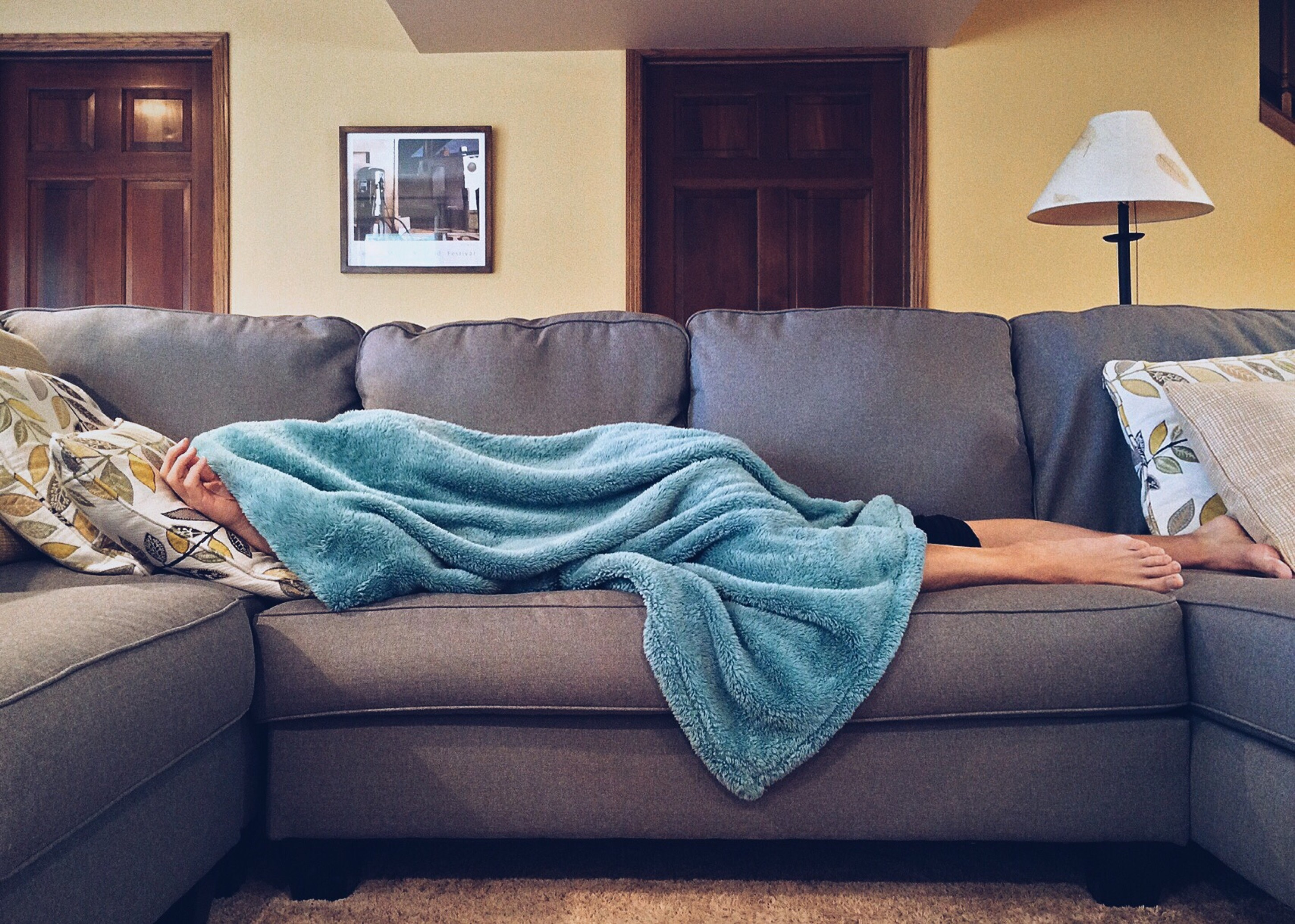 Quarter Of People Who Call In Sick Still Have To Work From Home %name