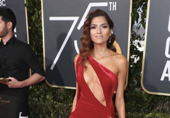 The Actress Who Didn't Wear Black To The Golden Globes