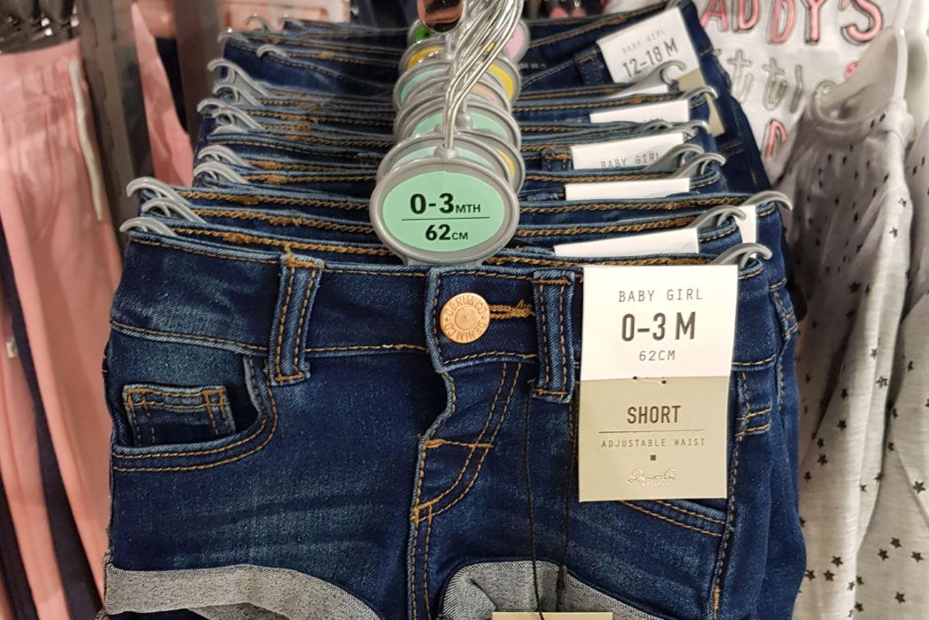 Primark Slammed For Selling Sick Hotpants For Newborn Babies totpants primar 89900 1 1048x700