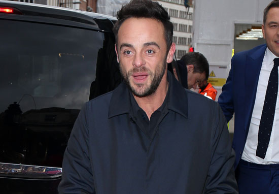 Ant McPartlins Smile Returns After Completing Month In Rehab Ant McPartlin