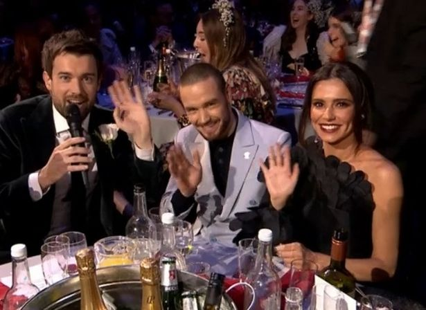 Cheryl and Liam at the Brit Awards