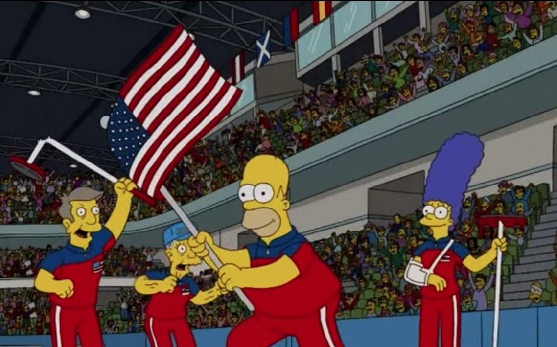 The Simpsons Predicted Exact Outcome Of Winter Olympics DWy7vgaWsAAP0p9