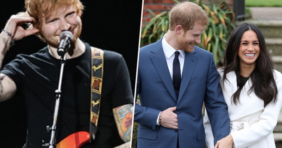 Ed Sheeran Asked To Perform At Prince Harry And Meghan Markle's Wedding