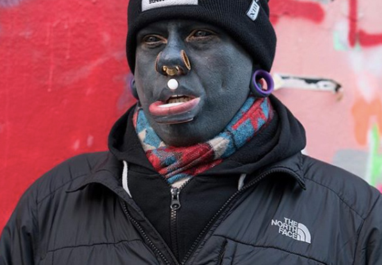 Tattoo Addict Inks Entire Face, Eyeballs And Inside His Mouth EliTattooW