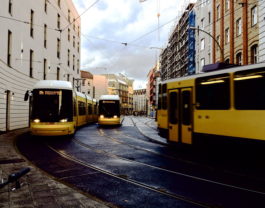 Germany Approves Ban On Diesel Cars Germany Yellow Public Transport Trams Berlin 828840