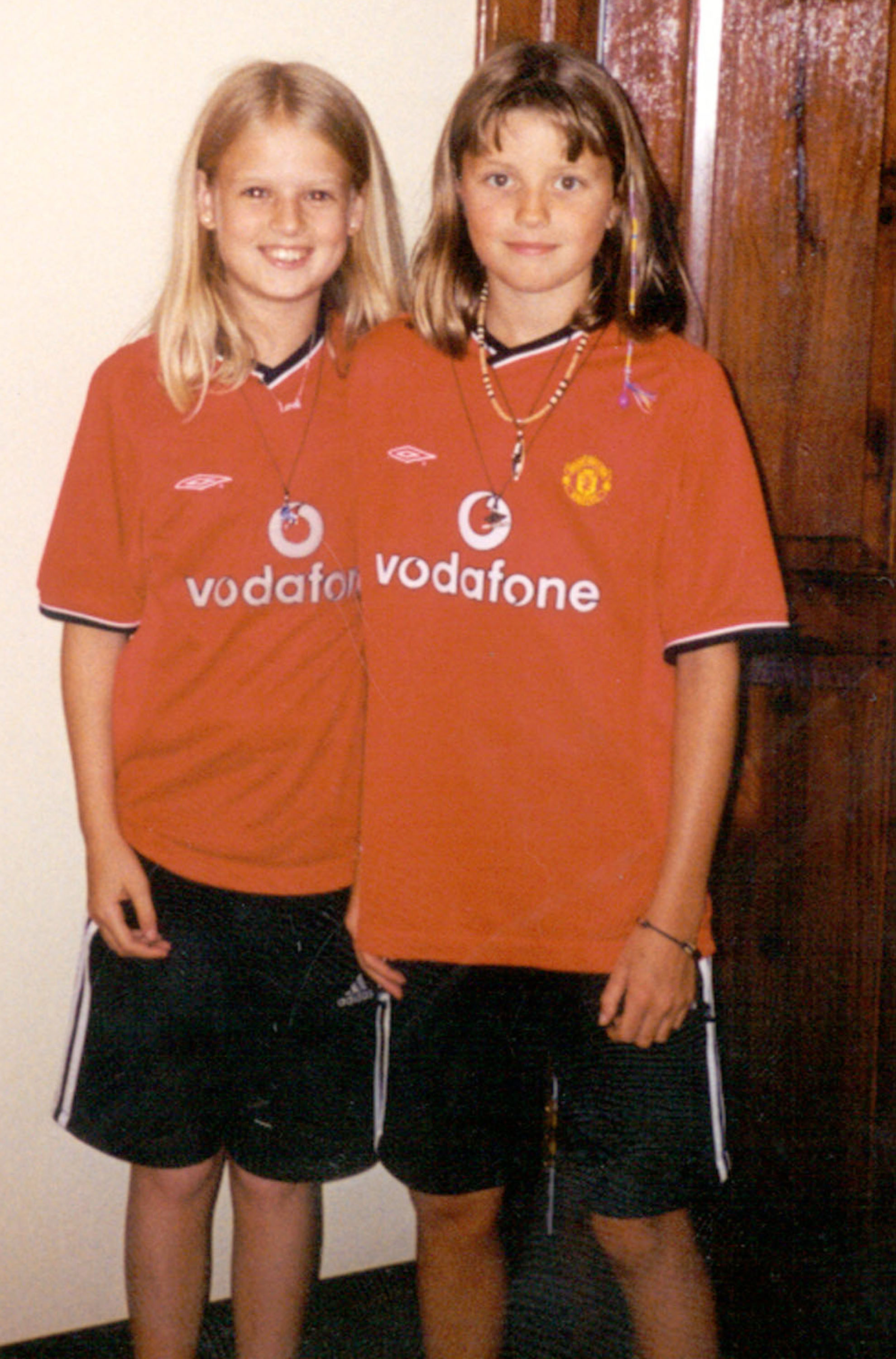 Holly Wells and Jessica Chapman who were killed by Ian Huntley in 2002