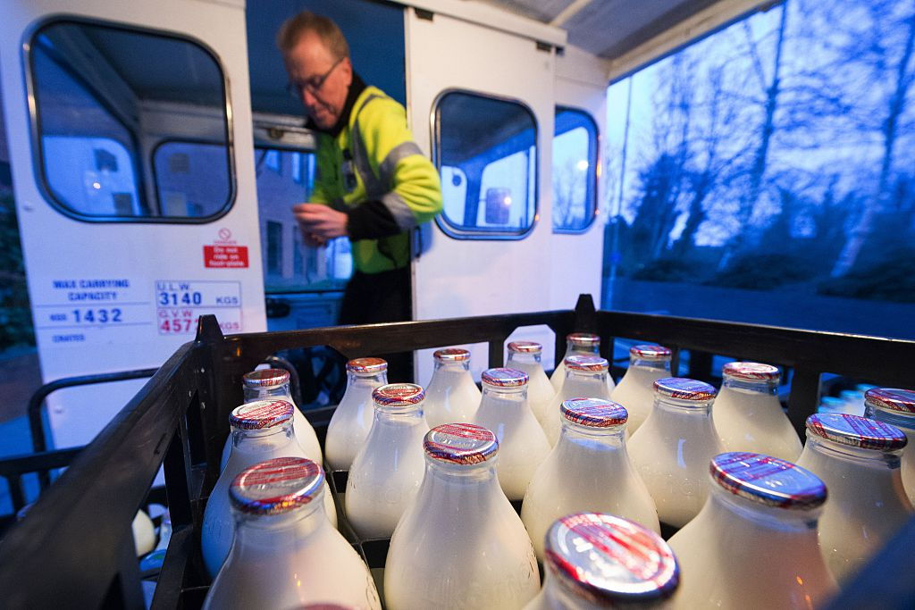 brits dream job milkman