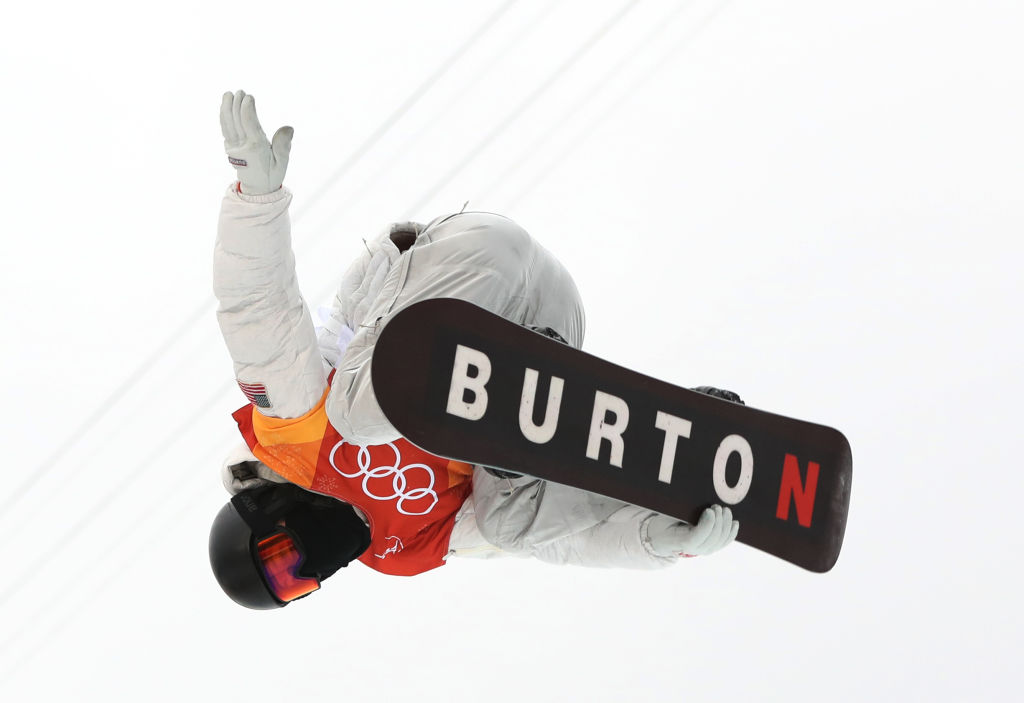 Shaun White Makes History After Winning Gold In Olympic Halfpipe GettyImages 918023060
