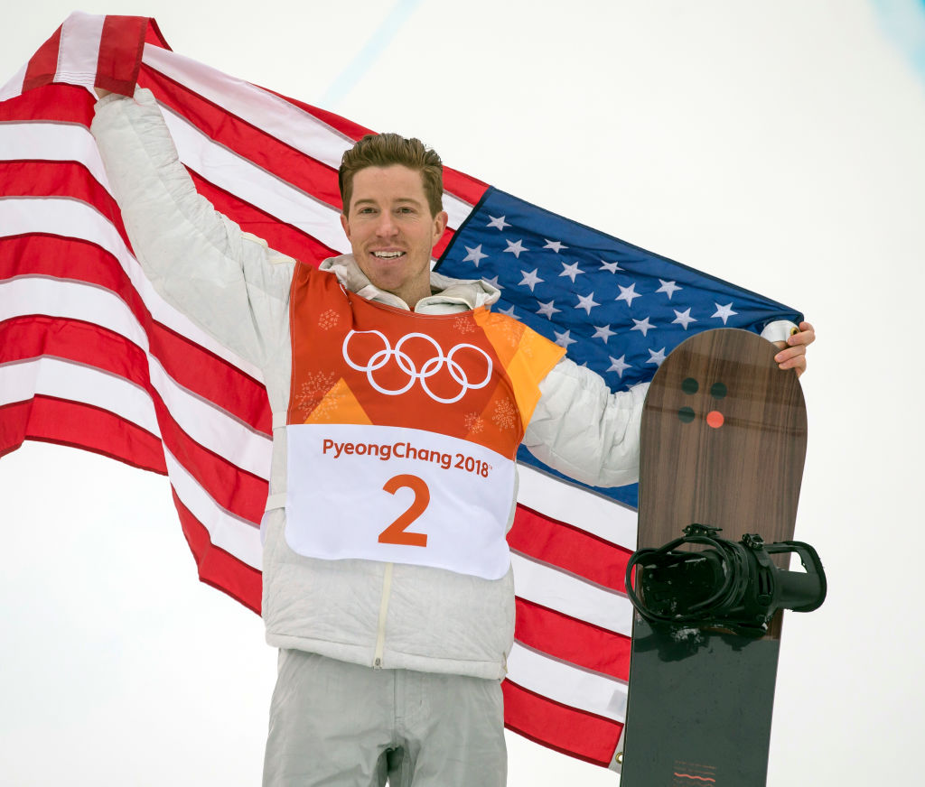 Shaun White Makes History After Winning Gold In Olympic Halfpipe GettyImages 918033592