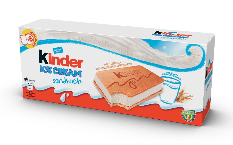 Kinder Bueno Ice Cream Is Now A Thing KINDER ICE CREAM