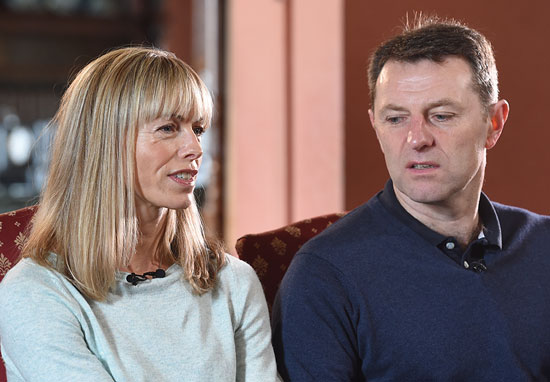 Gerry McCann and Kate McCann