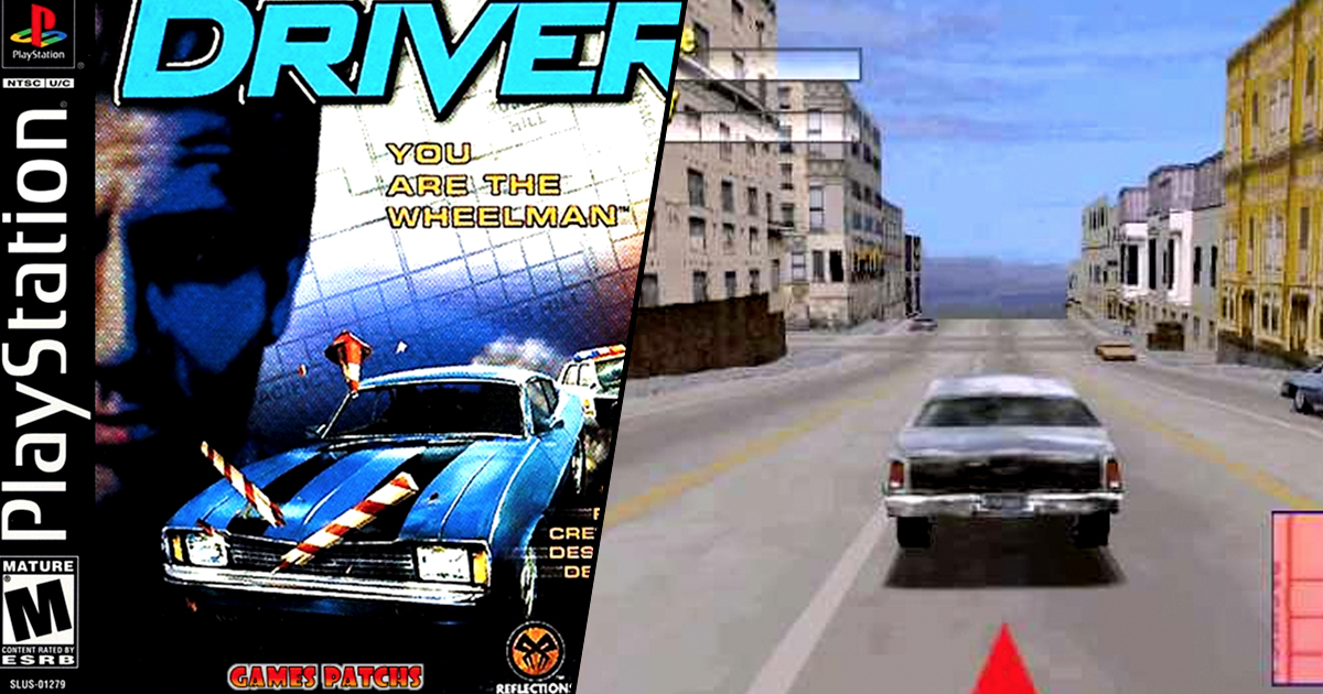 Driver Voted Best Ever PlayStation 1 Game LMK1