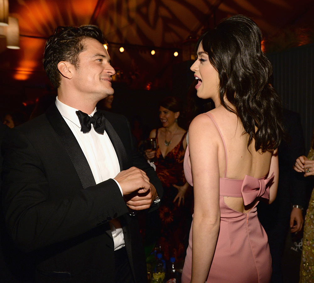 Katy Perry And Orlando Bloom Are Back Together Again Orlando Bloom and Katy Perry GettyImages 504441796