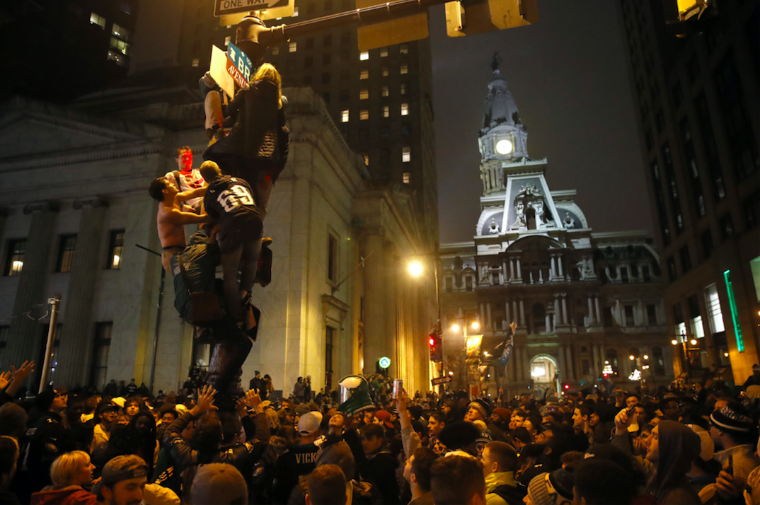 Eagles Fans So Happy With Super Bowl Win They Ve Trashed