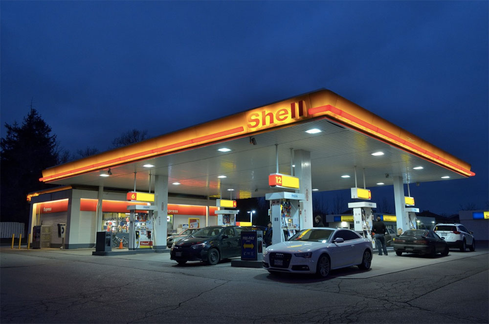 Germany Approves Ban On Diesel Cars Shell petrol station