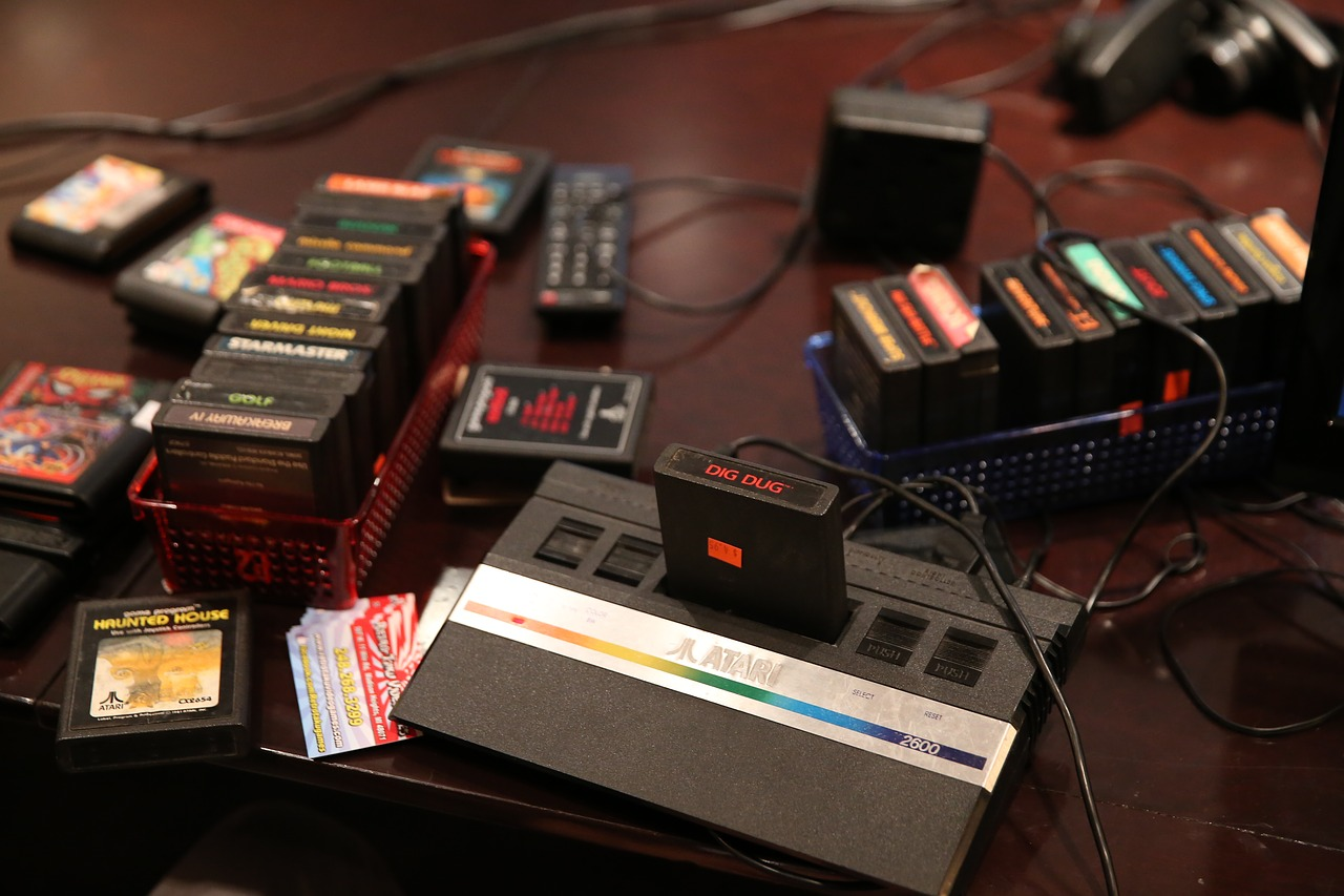 Video Games Are Key Strategy In Fighting Stress atari 2600 1548365 1280
