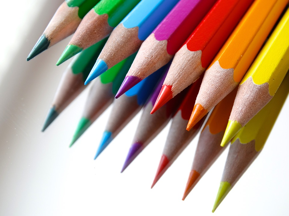 84 Per Cent Of Office Workers Consider Themselves Stationary Geeks colored pencils 686679 960 720