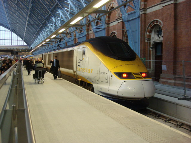 Eurostar Launches £35 London To Amsterdam Route Today eurostar st pancras geograph 1