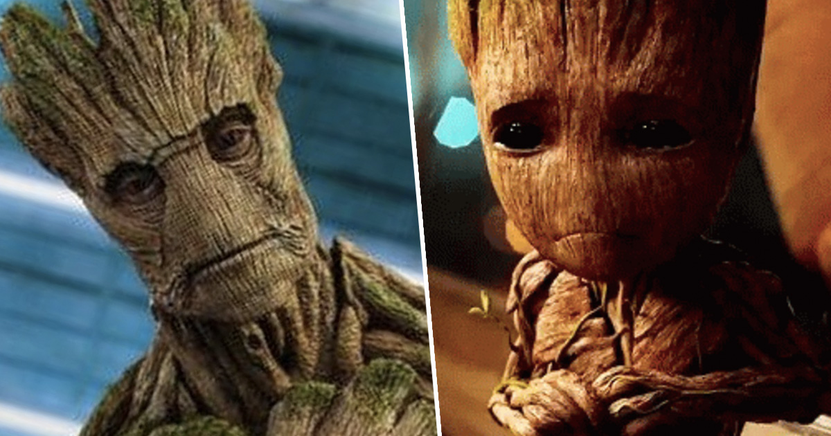 Groot Is Dead And Baby Groot Is His Son