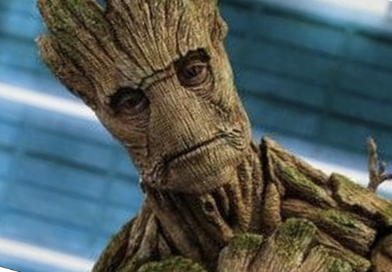 Groot in Guardians of the Galaxy