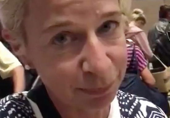 Katie Hopkins Return To UK From South Africa Blocked By Passport Control katie hopkins airport web