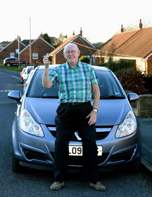 79 Year Old Man Learns To Drive So He Can Chauffeur Wife To Hospital keith