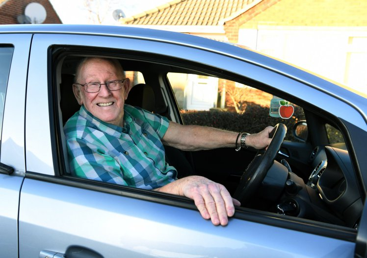 79 Year Old Man Learns To Drive So He Can Chauffeur Wife To Hospital keith2