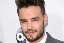 Liam Payne poses for photographers