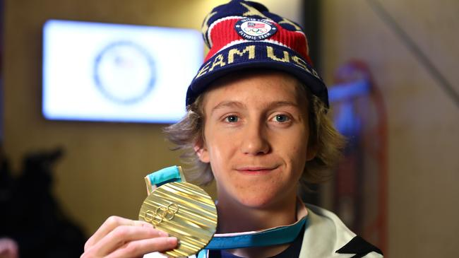Teen Who Overslept After Late Night Netflix Binge Still Won Olympic Gold %name