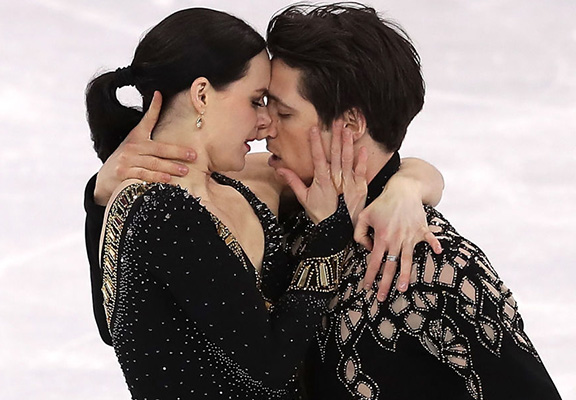 Olympic Figure Skaters Told Their Routine Is 'Too Sexy'