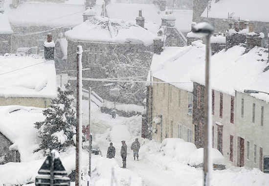 More Snow Is Coming Back To The UK