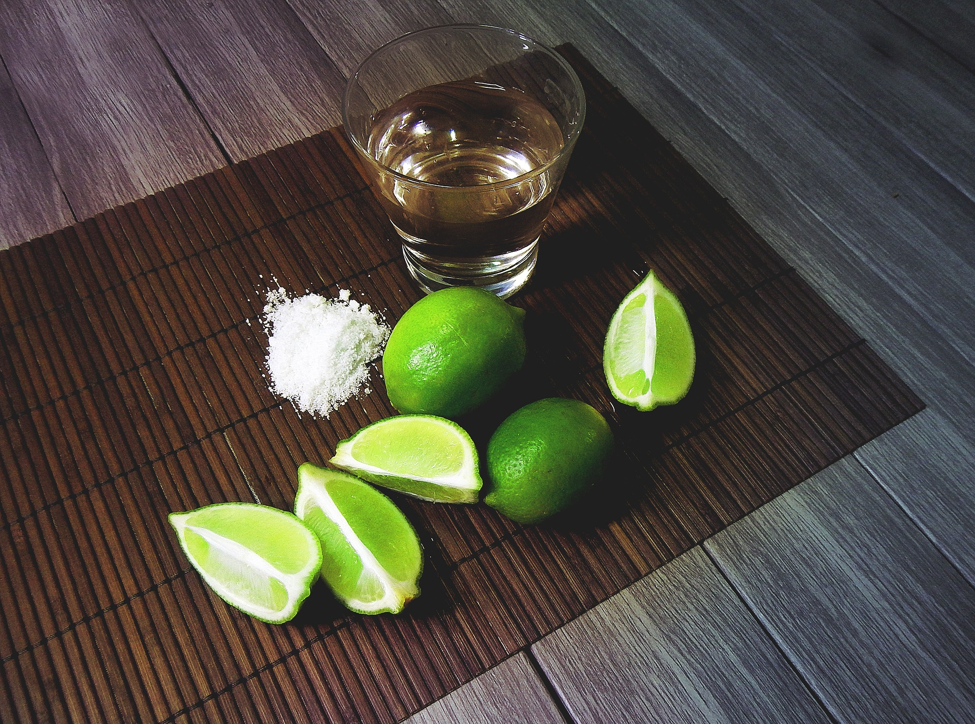 tequila lime and salt