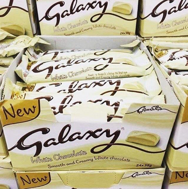 White Chocolate Galaxy Bars Are Now On Sale Unilad