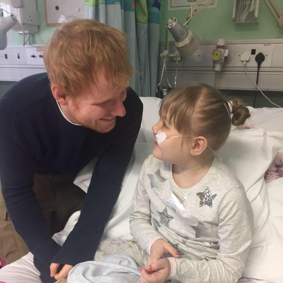 Little Girl Ed Sheeran Donated His Guitar To Has Died 15036198 1806439969568690 7883614141039815196 n